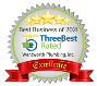 Three best rated award
