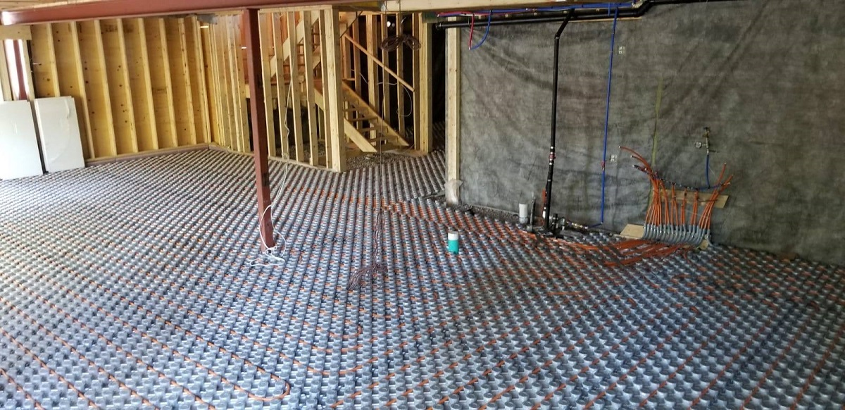 In Floor Heating Installation